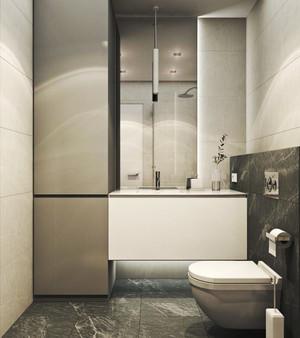63平米后现代风格精致单身公寓装修效果图赏析