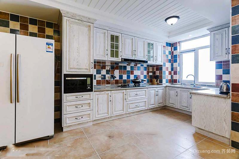 145平米地中海混搭风格三室两厅室内装修效果图赏析
