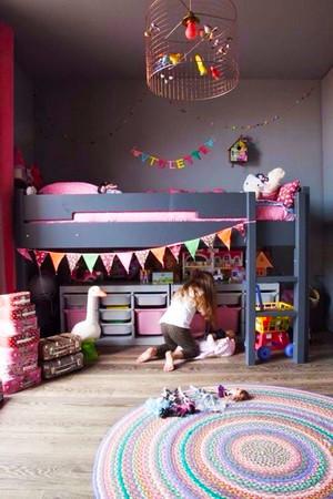 美式风格大户型室内儿童房装修效果图赏析