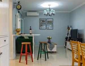 清新美式风格室内吧台装修效果图赏析