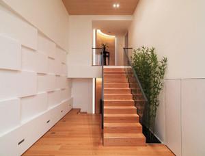 现代风格简约实木楼梯装修效果图赏析