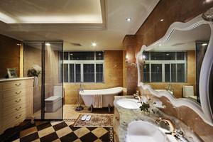 欧式风格大户型室内精致奢华卫生间装修效果图赏析