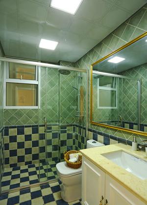 152平米清新自然田园风格精致大户型室内装修效果图案例