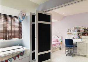 简欧风格温馨简约卧室隔断设计装修效果图赏析