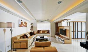 82平米现代风格雅致两室两厅室内装修效果图实例