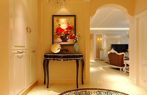 136平米新古典主义风格精装两室两厅室内装修效果图