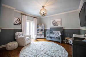 美式风格大户型室内精致婴儿房装修效果图鉴赏