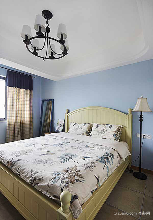 93平米地中海风格简约两室两室装修效果图赏析