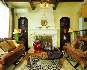 325平米东南亚风格别墅室内装修效果图案例