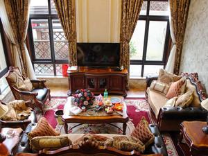 200平米古典欧式风格别墅室内装修效果图案例
