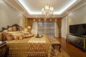 欧式风格奢华精致卧室吊顶装修效果图赏析
