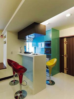 现代简约风格大户型室内吧台装修效果图赏析