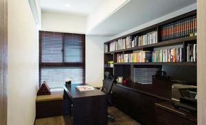 10平米现代风格书房榻榻米装修效果图赏析