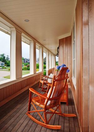 东南亚风格别墅封闭式阳台设计装修效果图赏析