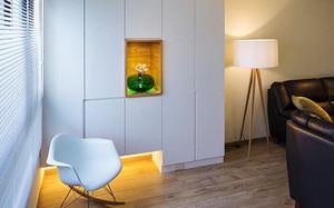 89平米宜家风格简约三室两厅室内装修效果图赏析
