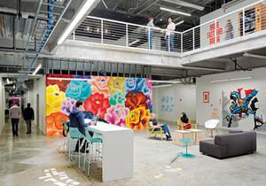 240平米后现代风格loft办公室装修效果图赏析