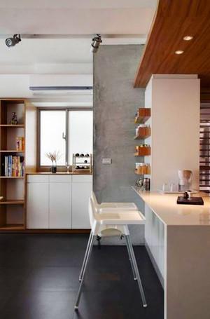现代简约风格两居室家装吧台装修效果图赏析