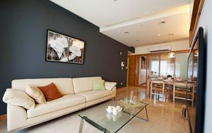 73平米北欧风格简约两室一厅室内装修效果图赏析