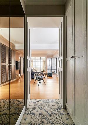 100平米复古风格简约室内装修效果图案例