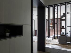 112平米后现代风格极简主义公寓装修效果图