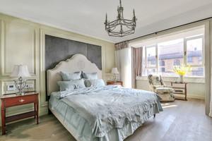简约美式风格大户型卧室背景墙装修效果图赏析