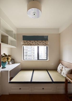 混搭风格榻榻米卧室装修效果图赏析