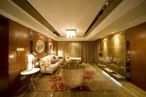 欧式风格奢华宫廷风精致客厅装修效果图