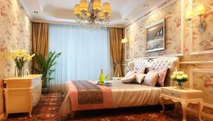 田园风格温馨舒适卧室背景墙装修效果图赏析