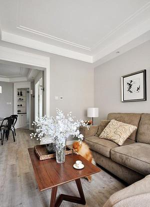90平米现代简约美式风格简装室内装修效果图赏析