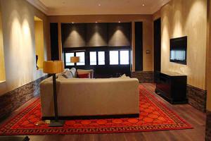 230平米中式风格古典雅韵别墅室内装修效果图案例