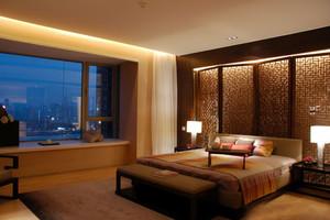 古典中式风格卧室飘窗设计装修效果图鉴赏