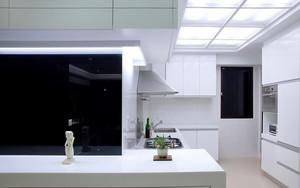 100平米现代简约风格精装室内装修效果图案例