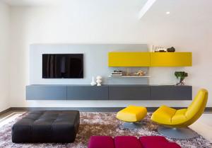 简约风格时尚客厅电视背景墙装修效果图赏析