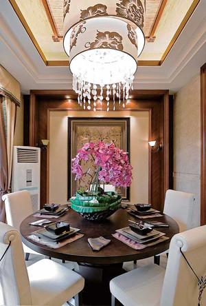 210平米异域东南亚风格别墅室内装修效果图赏析