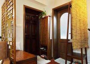 70平米复古中式风格精致一居室室内装修效果图