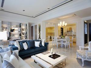 116平米简欧风格雅致两室两厅室内装修效果图案例