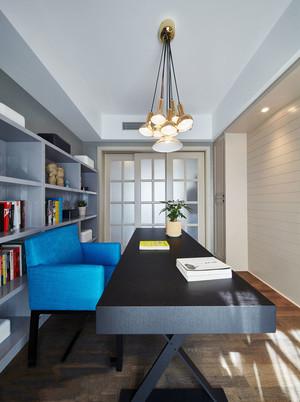 16平米现代简约风格书房装修效果图赏析