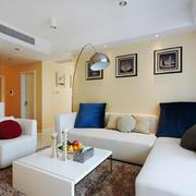 现代简约风格小户型客厅沙发装修效果图赏析