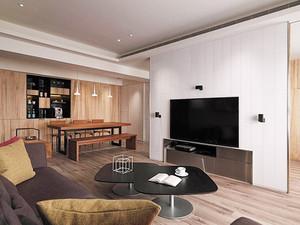91平米宜家风格简约自然两室两厅室内装修效果图