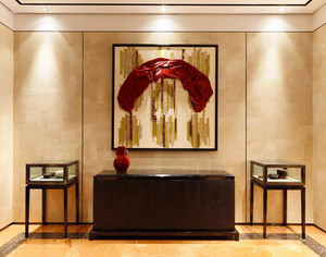 200平米中式风格别致雅韵别墅装修效果图案例