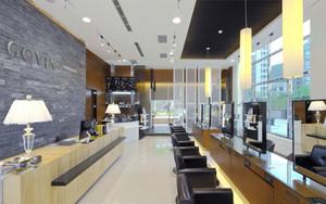 90平米现代风格精装美发店装修效果图赏析