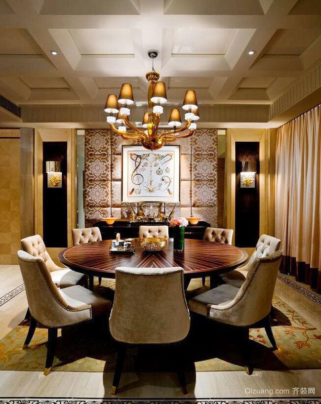 欧式风格精致华丽精品酒店包厢设计装修效果图