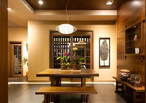 东南亚风格古典雅韵餐厅装修效果图赏析
