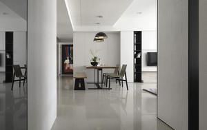 76平米现代简约风格两室一厅室内装修效果图赏析