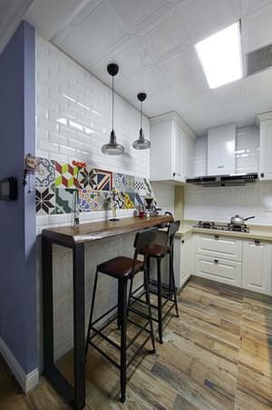 简约美式风格精致室内家装吧台装修效果图