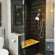 后现代风格大户型室内卫生间淋浴房装修效果图赏析