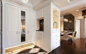 126平米新古典主义风格三室两厅室内装修效果图案例