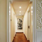 新中式风格大户型室内过道吊顶装修效果图赏析