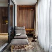 现代风格精致大户型室内封闭式阳台设计装修效果图