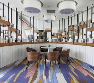 160平米简欧风格大型书店设计装修效果图
